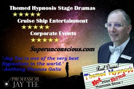 Professor Jay Tee - Hypnotist