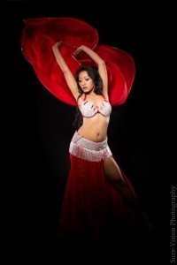 Wulan On Stage - Belly Dancer