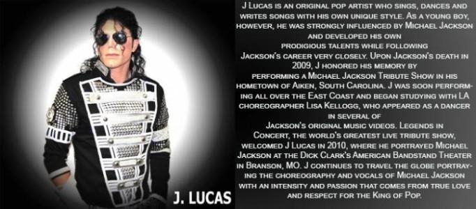 J Lucas - Michael Jackson Tribute Act