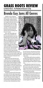 Brenda Guy The One Woman Show - Female Singer