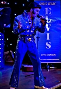 Chris Vegas - Elvis Impersonator