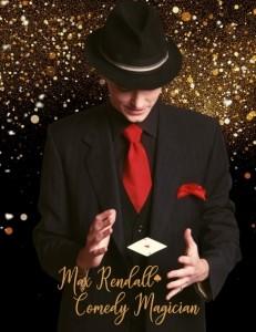 Magician Max Rendall - Comedy Cabaret Magician