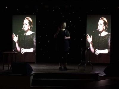 Rebecca Louise as Adele - Adele Tribute Act