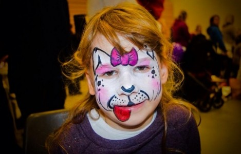 MK Happy Faces Face Painting image