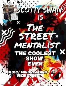 The street mentalist  - Comedy Cabaret Magician