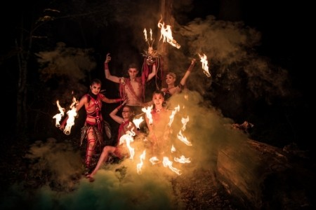Aliatrix - visual entertainment agency  - Fire Performer