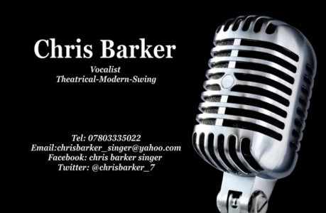 Chris barker  - Male Singer
