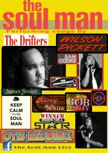 The Soul Man Live - Male Singer