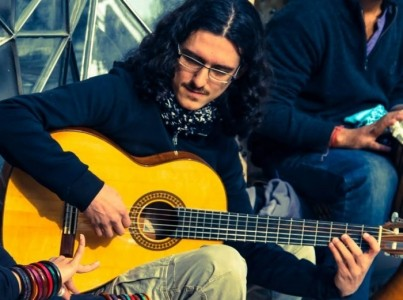 latin music, guitar and vocal - Acoustic Band