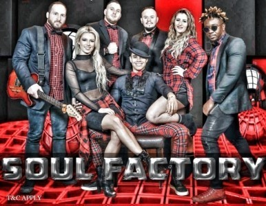 SOUL FACTORY BAND  - Song & Dance Act