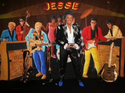 THE REBEL ROUSER JESSE - 60s Tribute Band