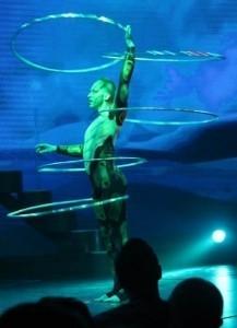 Ssnake - Hula Hoop Performer