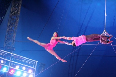 Duo Gerasymenko Natalia and Aleksandr - Aerialist / Acrobat