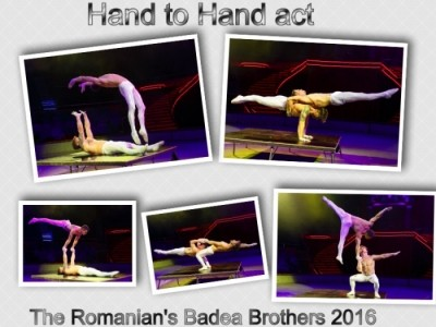 The Romanian´s BadeaBrothers HAND TO HAND SPECIALITY ACT - Acrobalance / Adagio / Hand to Hand Act