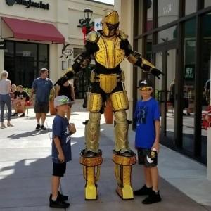 Led robot  - Stilt Walker