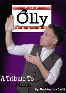 The Olly Factor by Mark Andrew smith - Olly Murs Tribute Act