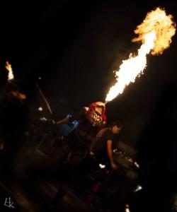 Olivia Livewire - Fire Performer