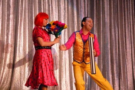 Stoil and Ekaterina - Quick Change and Magic Act - Quick Change Act