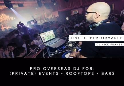 Nick Frames - Nightclub DJ