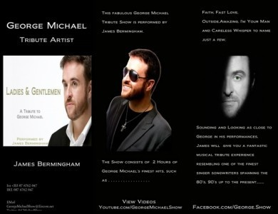 A Tribute to George Michael  - George Michael Tribute Act