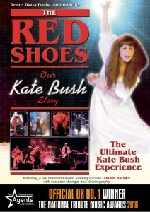 The Red Shoes. Our Kate Bush Story. Featuring Lorrie Brown. UK No.1 Kate Bush tribute - Tribute Act Group