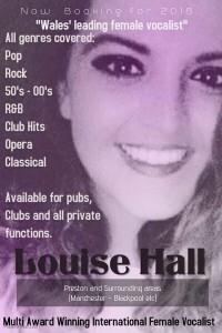 Louise Hall - Female Singer