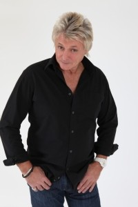 Rob Wright as rod stewart image