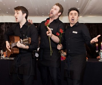The Singing Waiters - Comedy Singer