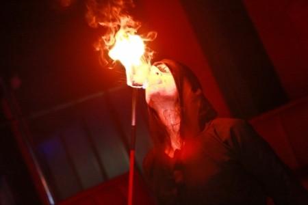 Katrin - Fire Performer