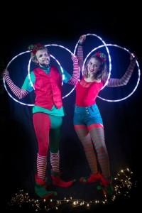 Lisa and Callum - Hula Hoop Performer