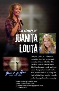 Juanita Lolita - Clean Stand Up Comedian