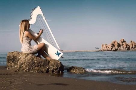 Evelina Rolon - Harpist