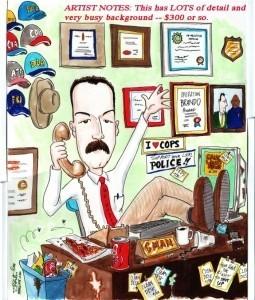 Caricature Artist Dennis Porter - Caricaturist