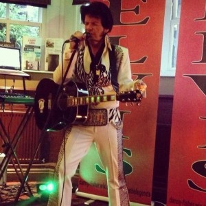Danny Fisher as Elvis Presley - Elvis Tribute Act