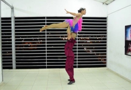 acrobatic salsa couple  - Other Dance Performer