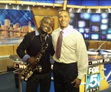 Abraham on sax - Saxophonist