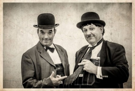 Laurel & Hardy Lookalikes with magic image