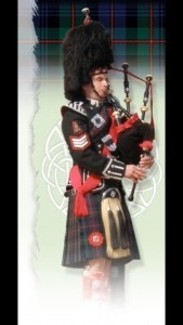 Cliff Hall - Bagpiper