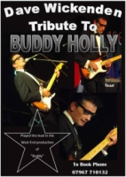 DAVE WICKENDEN - Buddy Holly Tribute